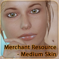 Merchant Resource for V4 - Medium Skin 2D 3D Figure Essentials _Fenrissa_