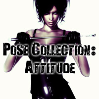 Pose Collection: Attitude Poses/Expressions WhiteRavenImages