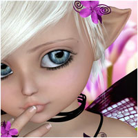 Lucibelle For Kids4 and Chibi 3D Models 3D Figure Essentials Belladzines