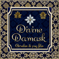 Divine Damask 2D Graphics fractalartist01