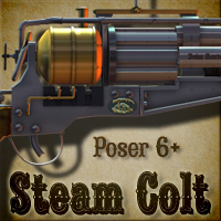 Steam Colt Props/Scenes/Architecture Themed Cybertenko