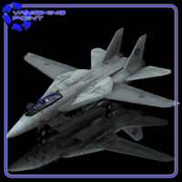 F 14 (for Poser) 3D Models VanishingPoint