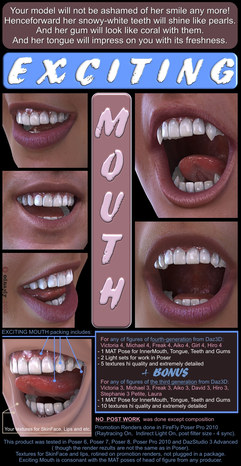 Exciting Mouth
