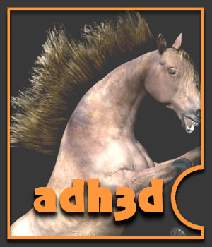 Transmap Mane for adHorse 2D Graphics adh3d