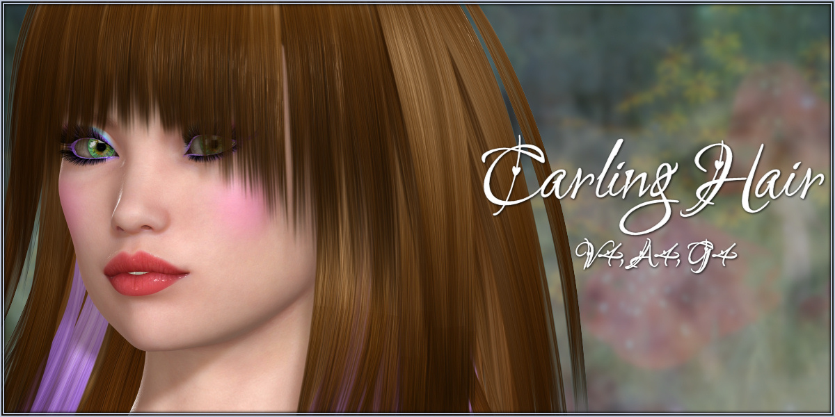 Carling Hair V4 A4 G4 by -Wolfie-