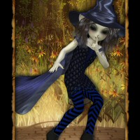 Witching Outfit-6 3D Figure Assets 3DTubeMagic