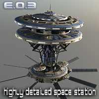 EO3 - Earth orbital 3 Transportation Props/Scenes/Architecture Themed Madaboutgames