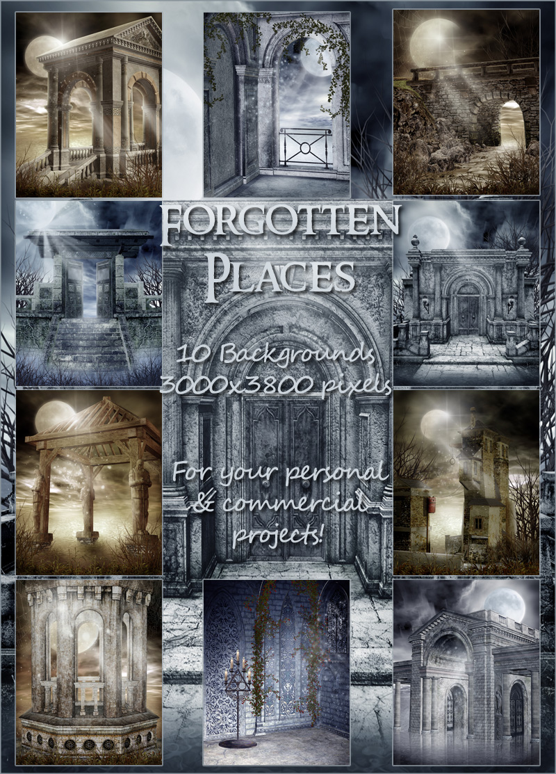 Forgotten Places Backgrounds