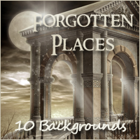 Forgotten Places Backgrounds Themed 2D And/Or Merchant Resources -Melkor-