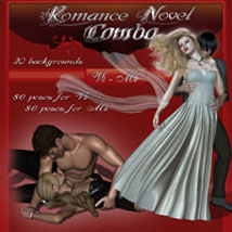 Romance Novel Combo Poses/Expressions 2D And/Or Merchant Resources Themed ilona