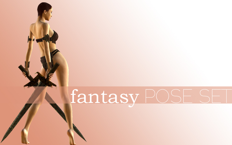 Get Epic: fantasy pose set for v4.2