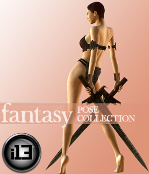 Get Epic: fantasy pose set for v4.2 3D Figure Essentials 3D Models ironman13