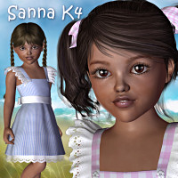 Sanna K4 Clothing Characters LMDesign