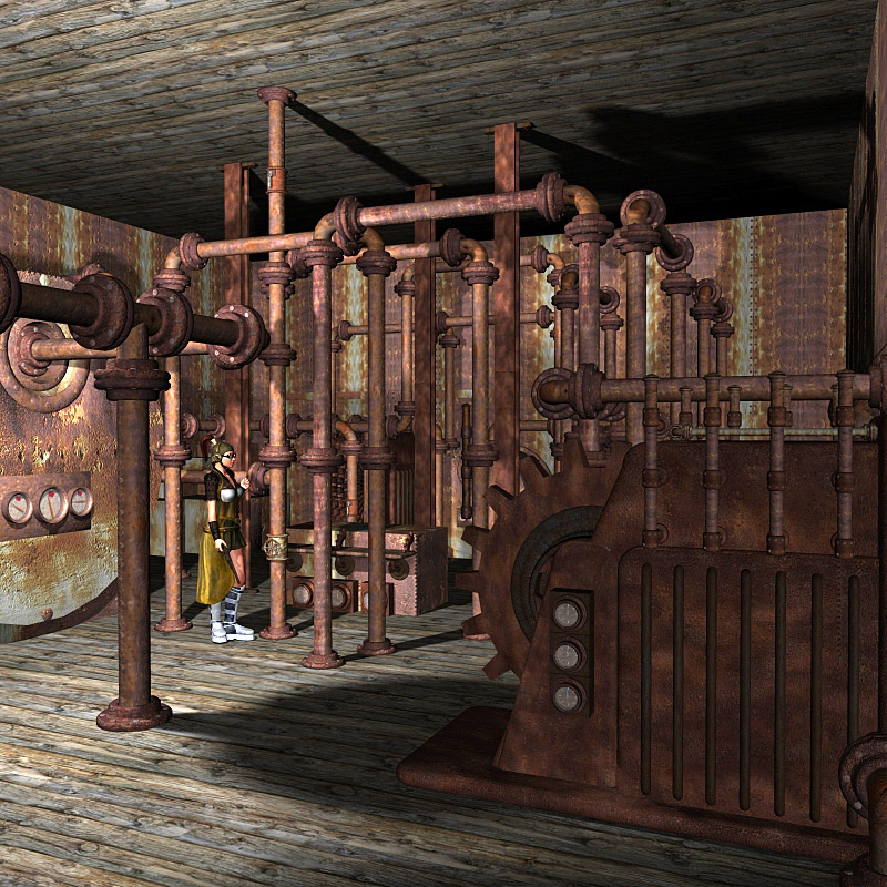 SP1 - Steampunk Base
