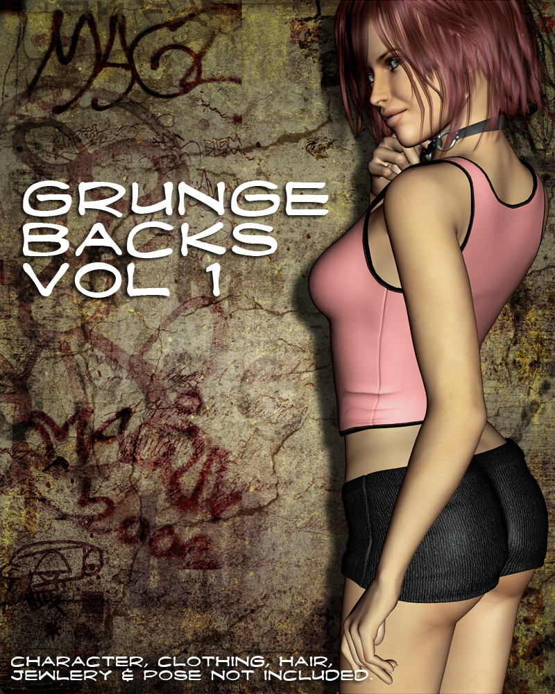 Grunge Backs Vol 1
