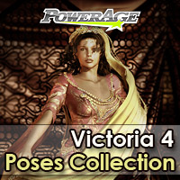 Powerage's V4 poses Collection 3D Figure Assets Legacy Discounted Content powerage