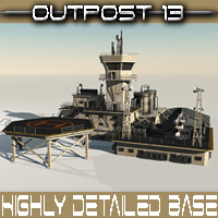 Outpost 13 Props/Scenes/Architecture Themed Madaboutgames