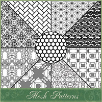 Mesh Patterns 2D Graphics Atenais