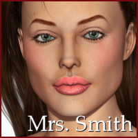 Mrs. Smith for V4 3D Figure Essentials cole4965