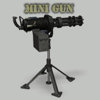 Minigun 3D Models Simon-3D