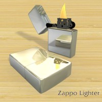 Lighter Zappo 3D Models Simon-3D