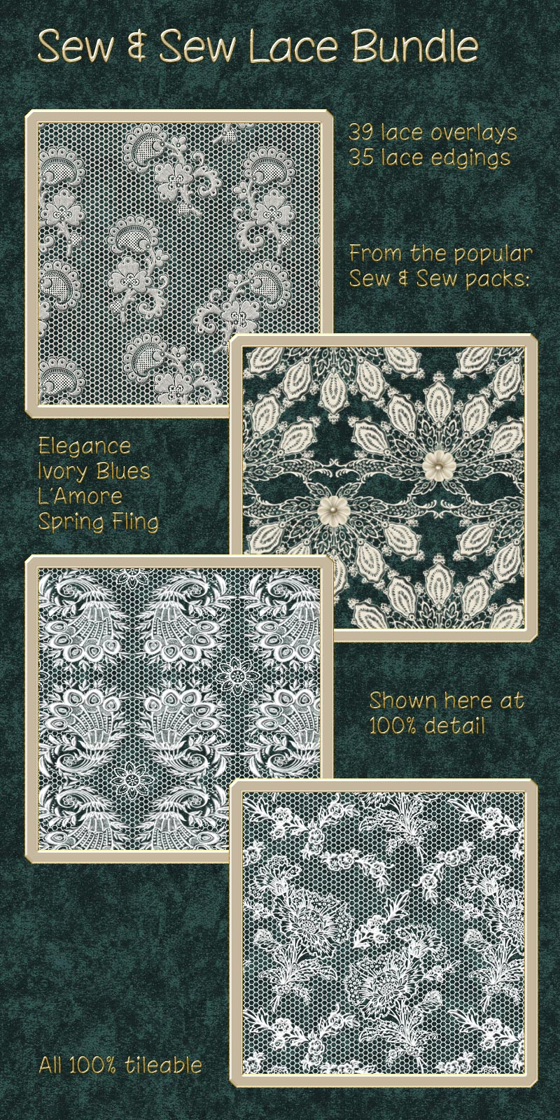 Sew & Sew Lace Bundle