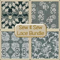 Sew & Sew Lace Bundle 2D Graphics macatelier