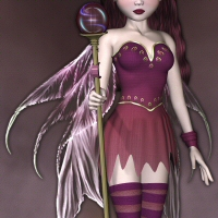 Fae Outfit For Skye by 3DTubeMagic