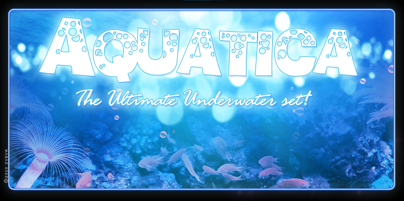Aquatica: Backgrounds & Lights!