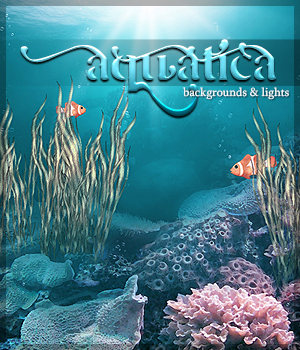 Aquatica: Backgrounds & Lights! 2D Graphics 3D Lighting : Cameras Sveva
