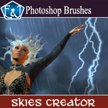 Skies Creator Brushes 2D Graphics EmmaAndJordi