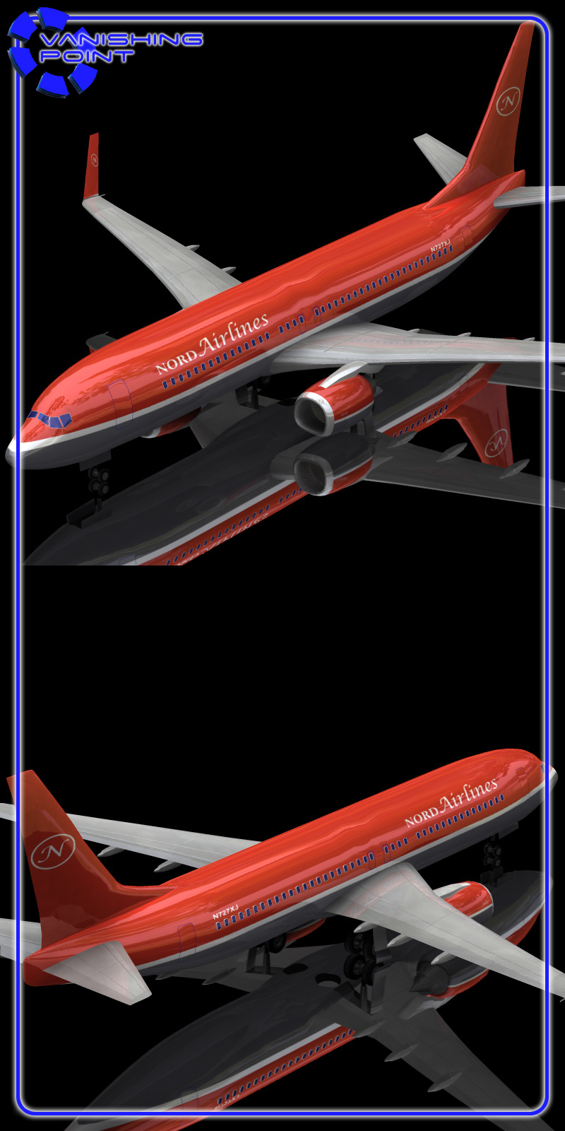 Aircraft 737 (for Poser)