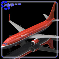 Aircraft 737 (for Poser) Themed Transportation VanishingPoint