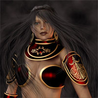 AW Sisera for V4 3D Figure Essentials 3D Models awycoff