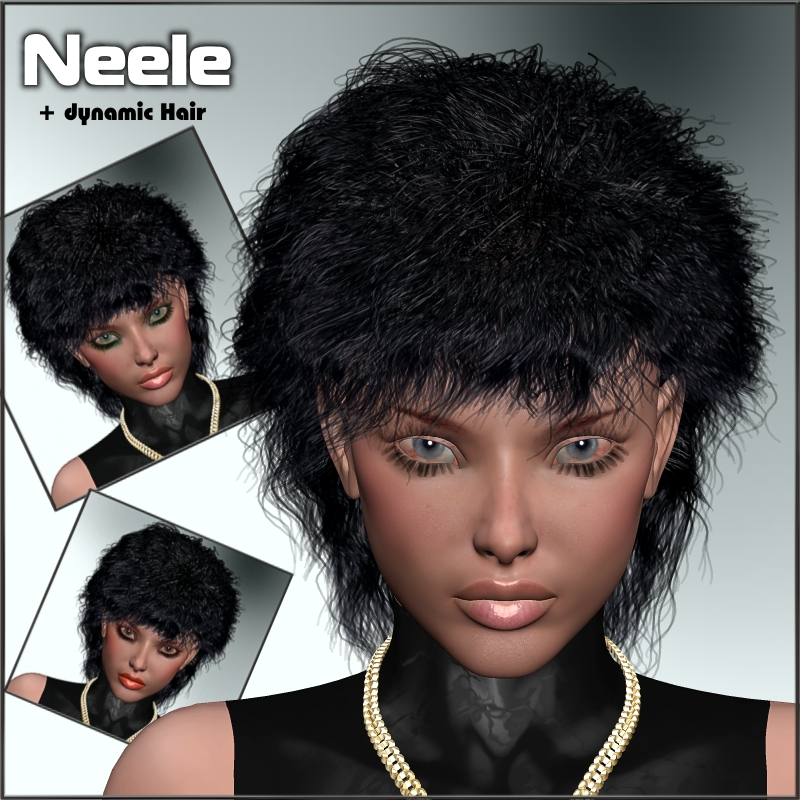 Neele + Dynamic Hair for V4