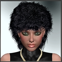 Neele + Dynamic Hair for V4 3D Figure Essentials kaiZ