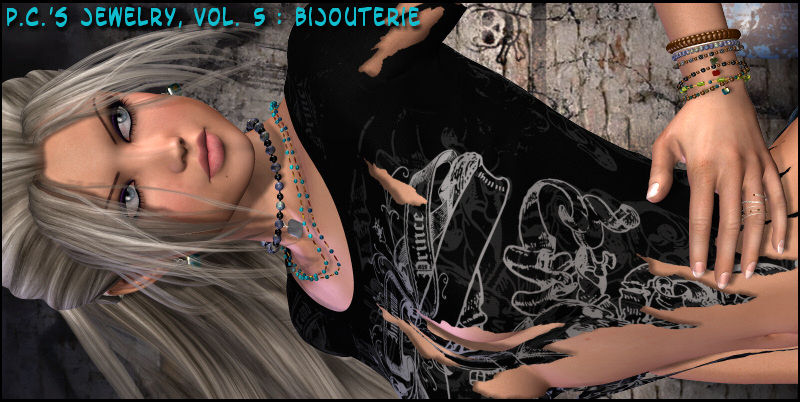 Pc's Jewelry Vol. 5: Bijouterie