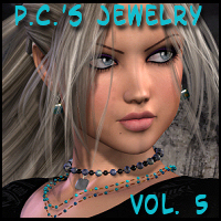 Pc's Jewelry Vol. 5: Bijouterie 3D Figure Essentials Propschick