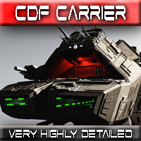CDF Carrier Themed Props/Scenes/Architecture Transportation Madaboutgames