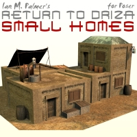 Return To Driza: Small Homes 3D Models IanMPalmer