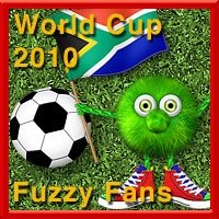World Cup 2010 Fuzzy Fan Pack  macatelier