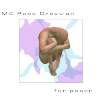 M4 Pose Creation 2D 3D Models Kassie