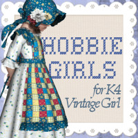Hobbie Girls by JudibugDesigns