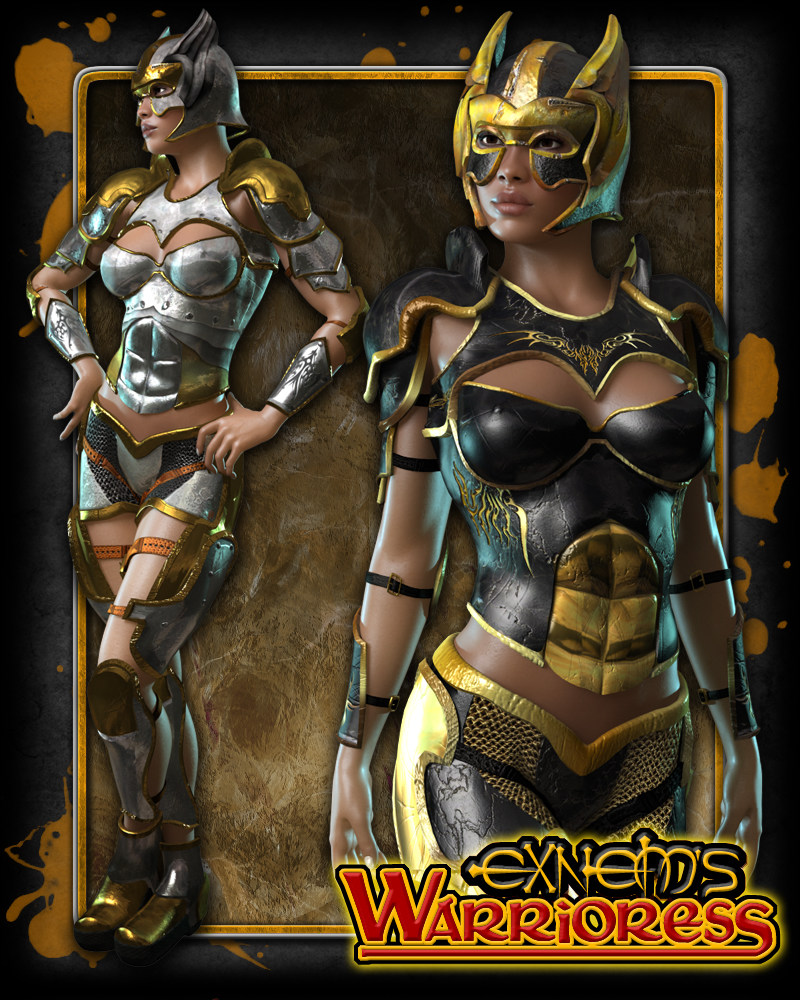 Exnem's Warrioress for V4/A4/G4/Elite/GND/Morphs++