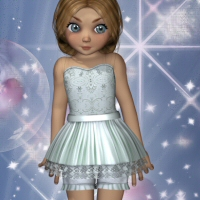 Sadie Outfit-1 3D Figure Essentials 3DTubeMagic