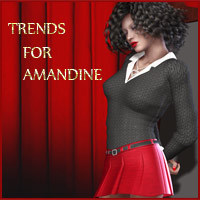 TRENDS For Amandine Clothing ArtOfDreams