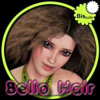 Biscuits Bello Hair 3D Figure Essentials Biscuits