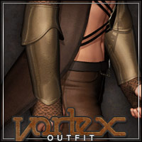 Vortex Outfit for M4/H4 3D Models 3D Figure Essentials outoftouch