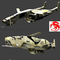ASSAULT BOMBER 3D Models rj001