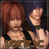 Vortex Hair 3D Figure Essentials outoftouch